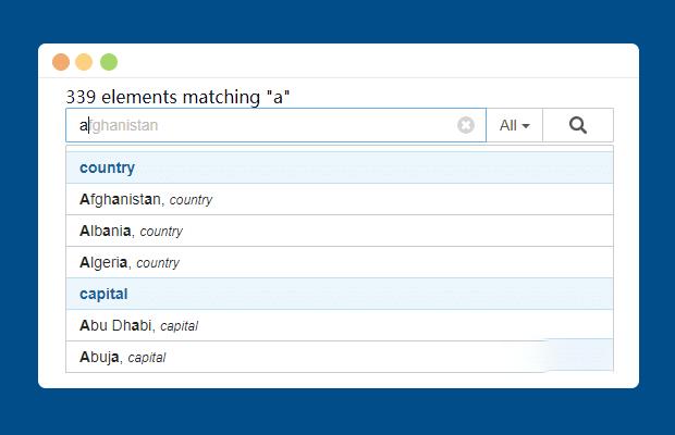 jQuery.Typeahead.js表单自动补全插件